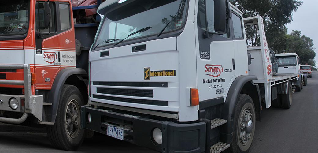 Our Fleet of Trucks